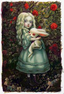 Alice im Wunderland_Benjamin Lacombe
